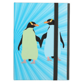 Gay Pride Penguins Holding Hands iPad Air Case