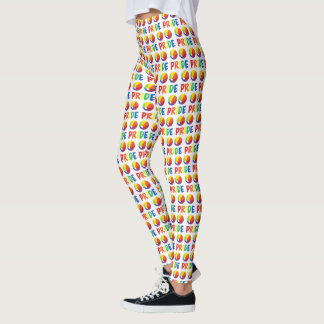 Gay PRIDE Rainbow Beach Ball Beachball LGBTQ Leggings