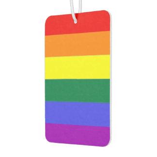 Gay Pride Rainbow Car Air Freshener