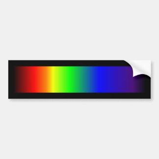 Gay Pride Rainbow Colors Bumper Sticker
