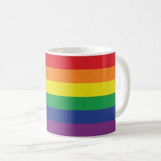 Gay Pride Rainbow Flag Colors Coffee Mug