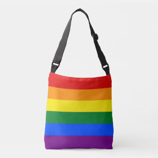 Gay Pride Rainbow Flag LGBT Crossbody Bag