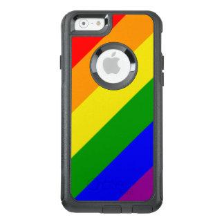 Gay pride Rainbow Flag OtterBox iPhone 6/6s Case