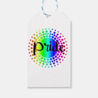 Gay Pride Rainbow Gift Tags