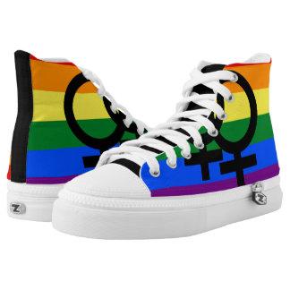 Gay Pride Shoes