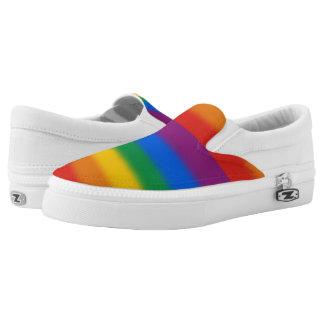 Gay Pride Slip-On Shoes