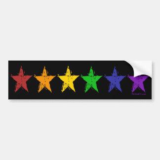 Gay Pride Stars 01 Bumper Sticker