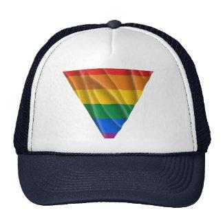 GAY PRIDE TRIANGLE 1 TRUCKER HAT