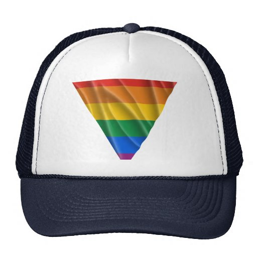 GAY PRIDE TRIANGLE 1 HAT