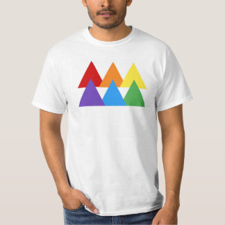Gay Pride Triangle Tee