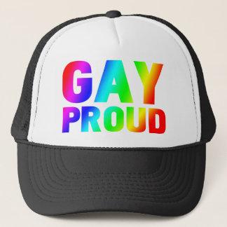 GAY PROUD TRUCKER HAT