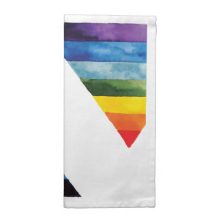 gay rainbow colors printed napkin