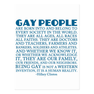 Gay Rights Postcard