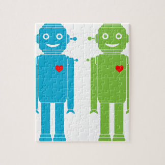Gay Robots Jigsaw Puzzle