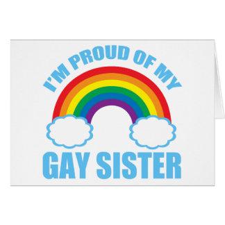 Gay Sister Greeting Cards