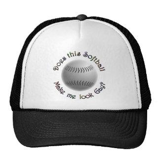 Gay Softball Trucker Hats