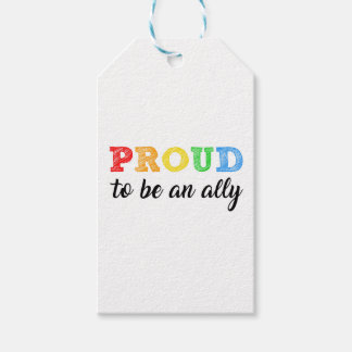 Gay Straight Alliance Ally Gift Tags