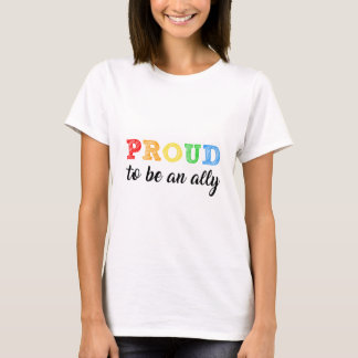 Gay Straight Alliance Ally T-Shirt