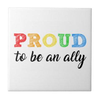 Gay Straight Alliance Ally Tile