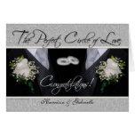 Gay Wedding Congratulations Personalised Card