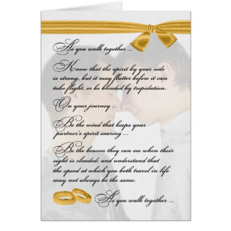 Gay Wedding Congratulations Two Grooms Greeting Card