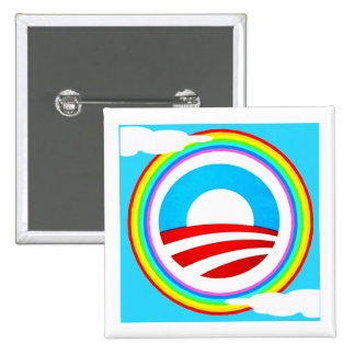 GAY WOMEN FOR BARACK OBAMA CAMPAIGN BUTTON