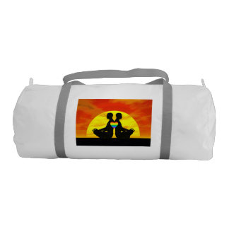 Gay yoga love - 3D render Gym Bag