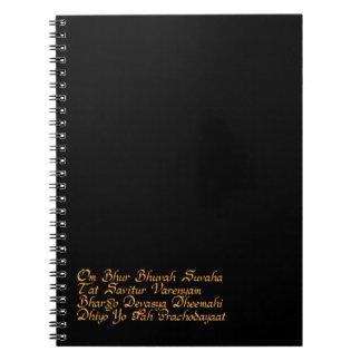Gayatri mantra notebooks