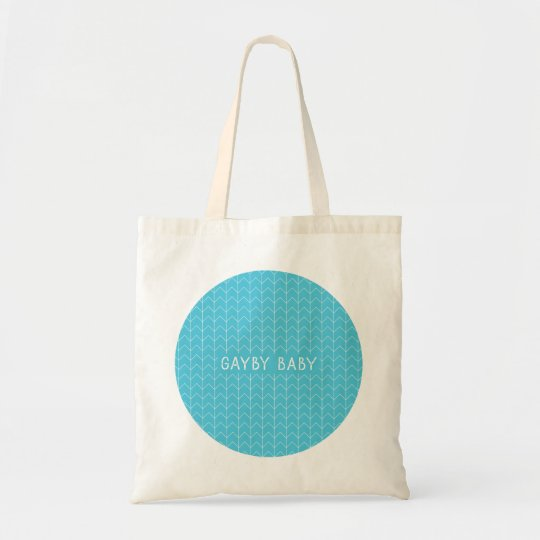 Gayby Baby Circle Tote – Blue