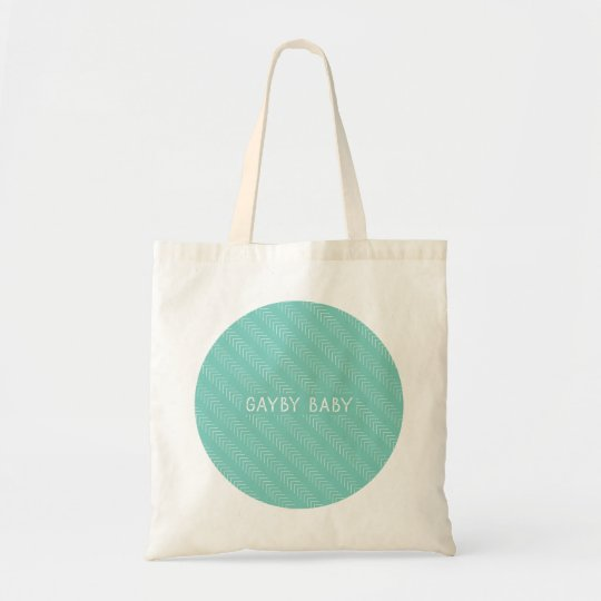 Gayby Baby Circle Tote – Green
