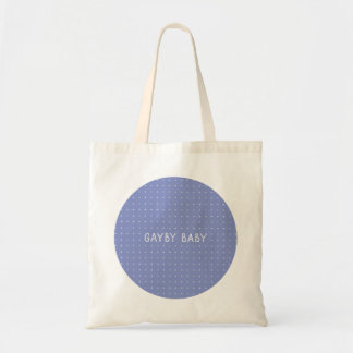 Gayby Baby Circle Tote – Purple