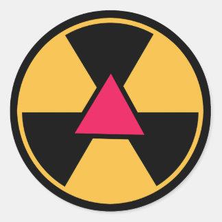 Gaydioactive Sticker
