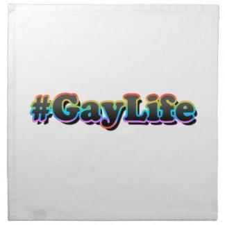 #GayLife Napkin