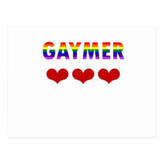 Gaymer (v1) postcard