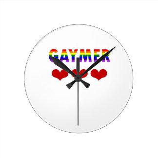 Gaymer (v1) round clock
