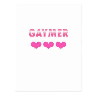 Gaymer (v2) postcard