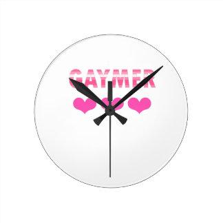 Gaymer (v2) round clock