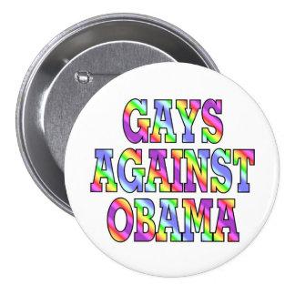 Gays against Obama Pins