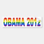 Gays For Obama 2012 Bumper Sticker