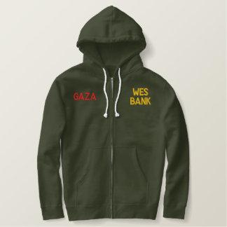 Gaza wear embroidered hoodie