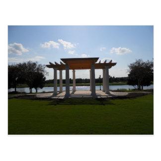 Gazebo JW Marriott Orlando Florida Postcard