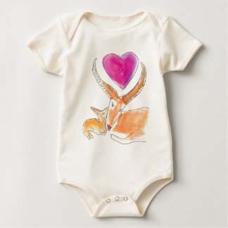 Gazelle - a mothers love baby bodysuit