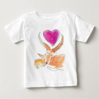 Gazelle - a mothers love baby T-Shirt