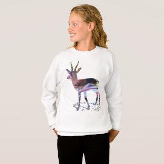 Gazelle art sweatshirt