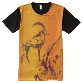 GAZELLE  KALAHARI All-Over PRINT T-Shirt