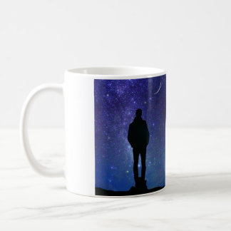 GAZING AT THE STARS CUSTOMIZABLE MUG