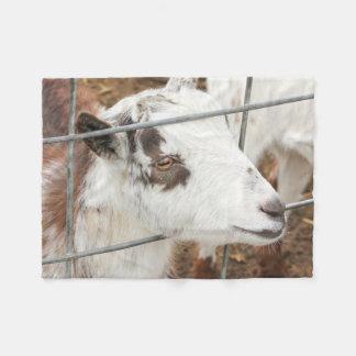 Gazing Goat Fleece Blanket