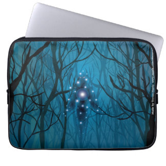 Gazing Into the Void Laptop Computer Sleeves
