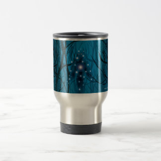 Gazing Into the Void Stainless Steel Travel Mug