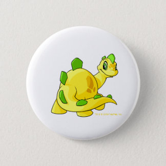 Gazing yellow Chomby 6 Cm Round Badge